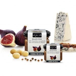 black fig cheese paring