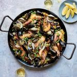 Easy Summer Seafood Paella